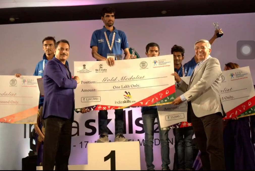 Pune Candidates Shine at India Skill Competition held in Delhi