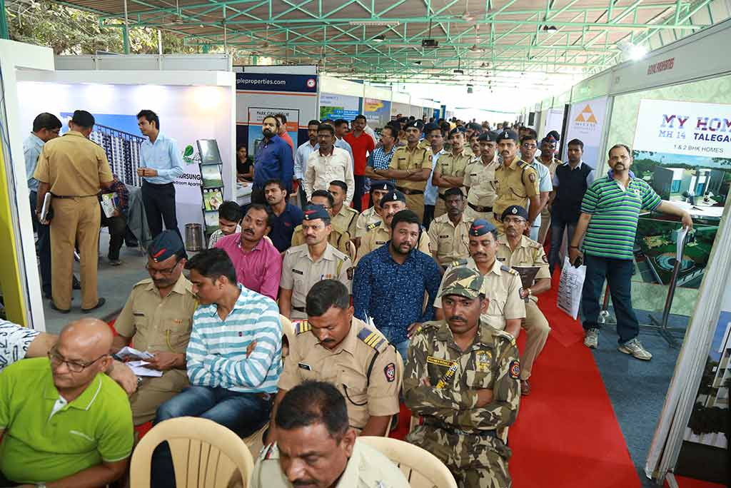 CREDAI-Pune Metro and Pune Police - Special Property Exhibition