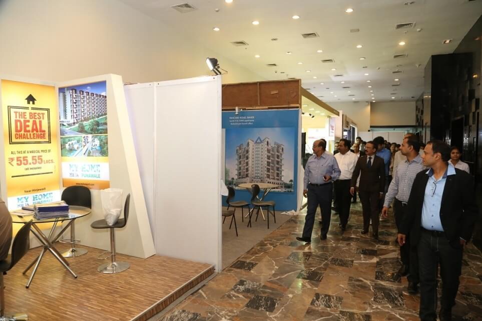 Exhibition Stall In Pune : Credai pune metro real estate property pune property exhibition