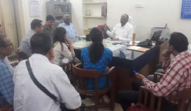 Interactive Meeting of Labour Welfare Committee at Labour Office