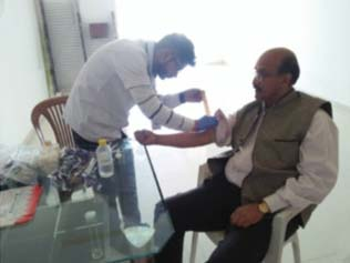 Free Health Checkup Camp for Staff