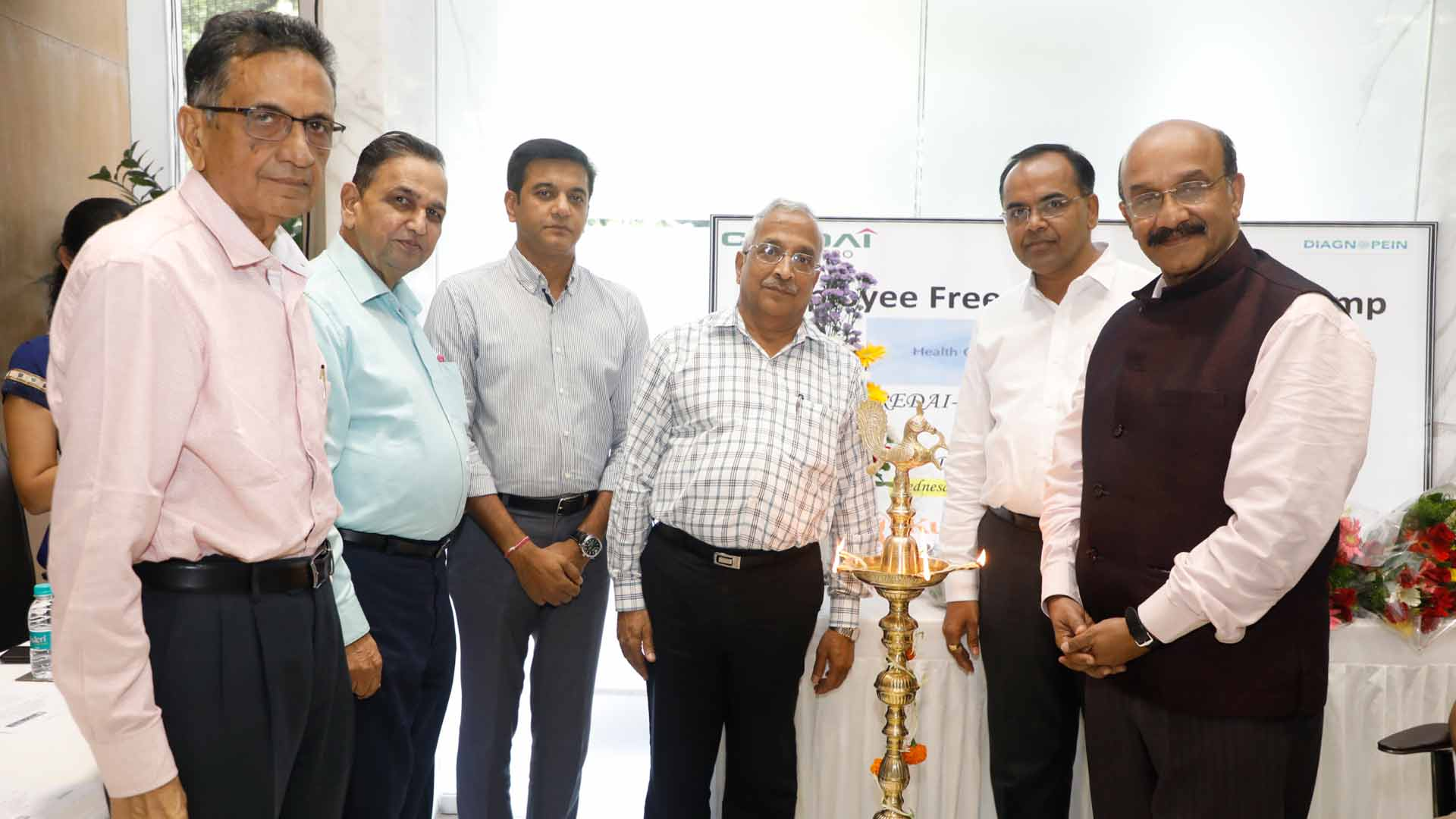 CREDAI-Pune Metro holds Free Health Checkup Camp for staff of its Members