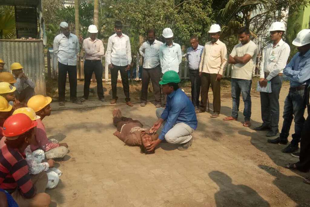 First Aid Training under Labour Welfare