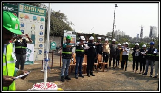 Safety week Celebration 2018  by CREDAI-Pune Metro Members.