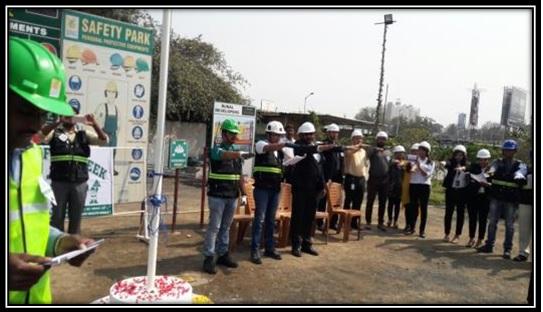 Safety week Celebration 2018  by CREDAI-Pune Metro Members.
