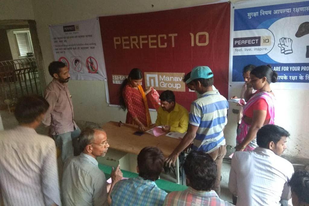 Labour Registration by CREDAI-Pune Metro Members