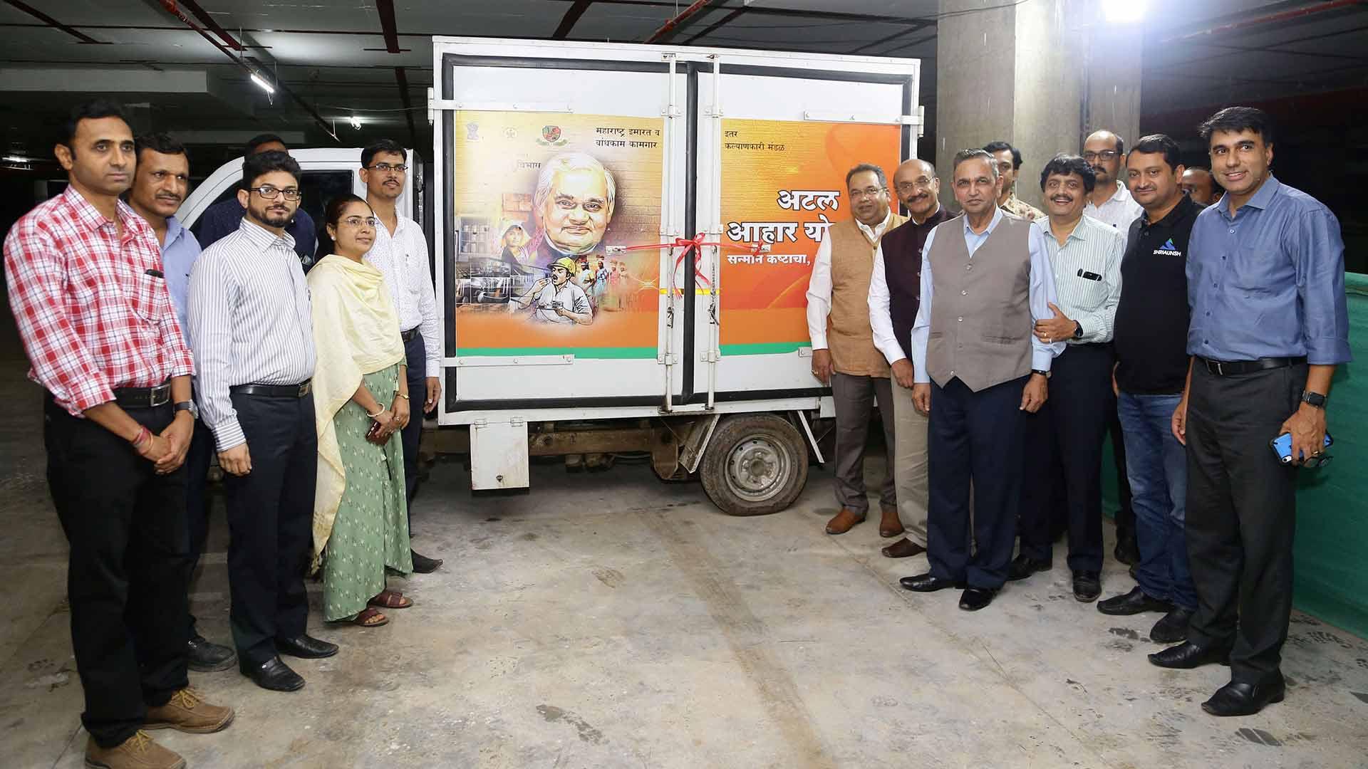 Launching of Atal Aahar Yojana Program held on Kalpataru Jade Site, Baner on 1st Aug, 2019