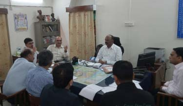 Interaction Meeting of Labour Welfare Committee at Labour Office.
