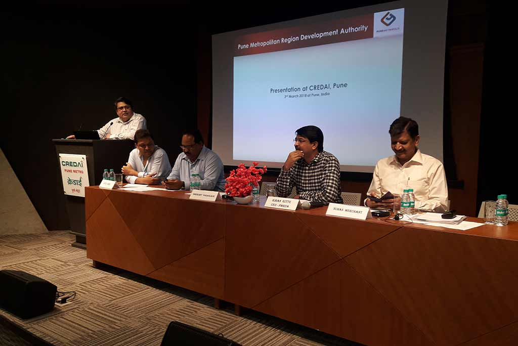 Presentation by Hon'ble Mr. Kiran Gitte, CEO, PMRDA.