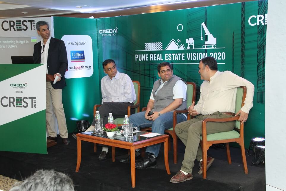 CREDAI-Pune Metro's Annual Learning Summit, CREST 2015, at Trident Hotel,Mumbai