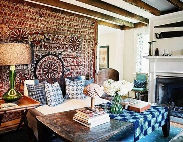 Creating a perfect blend of a Bohemian style ambiance at your home
