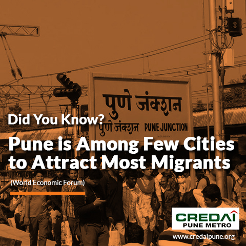 Pune, Growing Choice of Migrants!